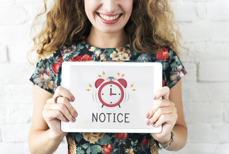 Digital tablet alarm notification for important appointment