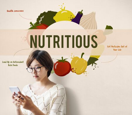 건강한 식생활 식품 영양 개념