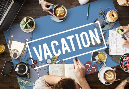 Travel Journey Holiday Vacation Trip Stock Photo