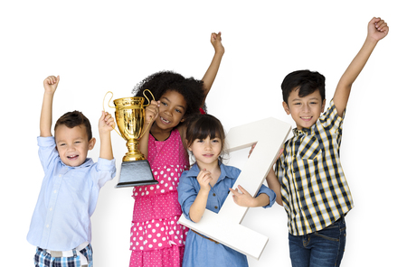 Group of Kids Trophy Competition Winner