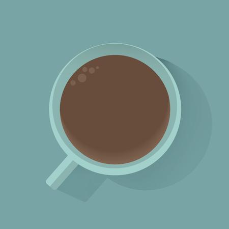 Coffee icon vector illustration Illustration