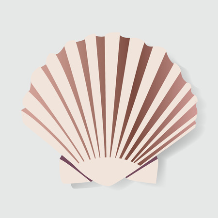 貝殻電動機 Illstration グラフィック デザイン  イラスト・ベクター素材