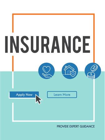 Versicherung Lebens Erstattung Schutzkonzept Standard-Bild - 78862994