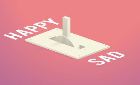 Happy Sad Best Worst Decision Choice Switch