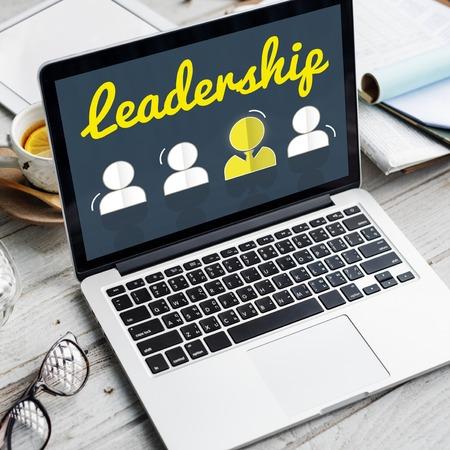 Partnership Corporate Team Leader Font Concept