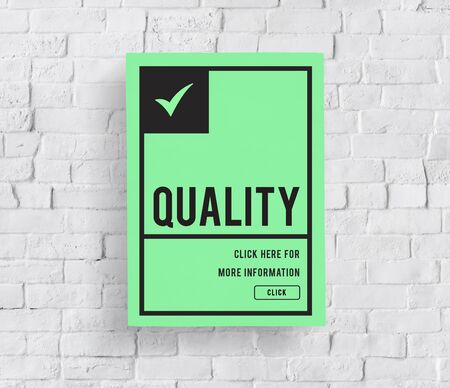 Original Premium Guaranteed Quality Banner Graphic Banco de Imagens