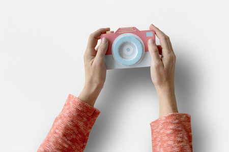 Human Hand Holding Camera Photography Photoshoot