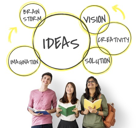 Innovation Success Ideas Solution Фото со стока