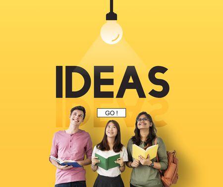 Ideas Imagination Inspiration Creativity Concept Stock Photo