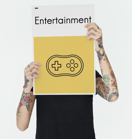 Game Controller Joystick Media Entertainment