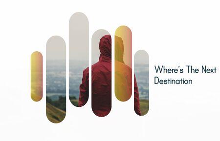 Wheres The Next Destination Explore Stock fotó