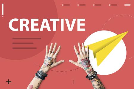 Creative Thinking Inspirational Idea Concept Stock Photo