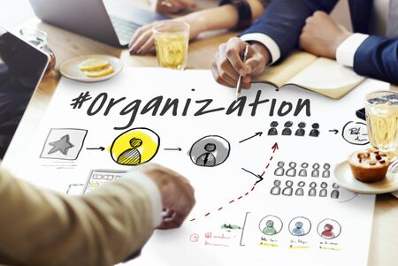Teamwork Collaboration Organization Brainstorming Goals Zdjęcie Seryjne - 78965357