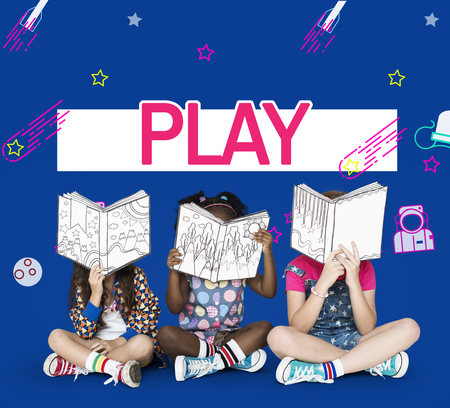 Imagination galaxy playing and learning