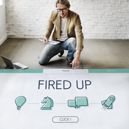 ビジネス目標起業家成功新人 写真素材 - 78853562