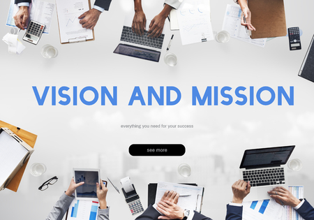 Vision and Mission Inspiration Word