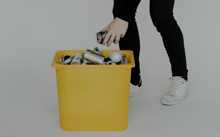 Recycel Reuse Responsible Environmental Trash Stock Photo