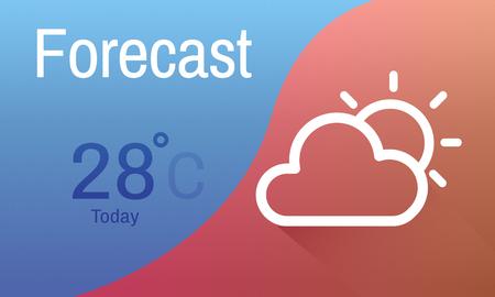 Weather Forecast Season Cloud Icon