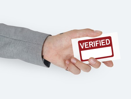 validate: Verified Confirm Authorized Accepted Validate