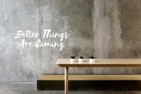 beton: Better Things are Coming Try Never Give Up
