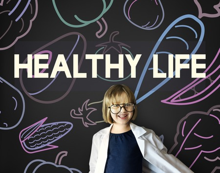 geeky: Healthy Eating Food Lifestyle Organic Wellness Graphic