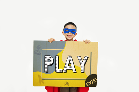 Play Education Enjoyment Games Learn Stock Photo