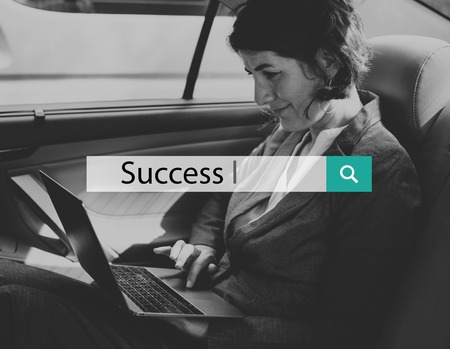 Success Mission Achievement Gzrowth Business Word