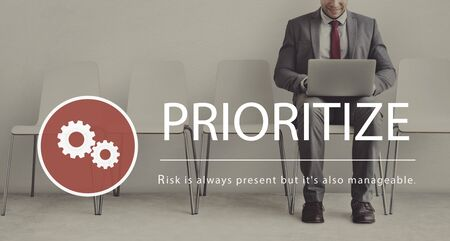 Risk Management Challenge Solution Prioritize Stock Photo - 78888600