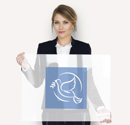 Peace Dove Symbol Pigeon Sign