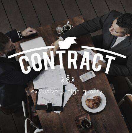 Contractovereenkomst Onderhandelingen Maak een deal