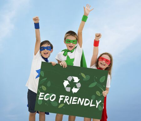 heros: Recycle Nature World Icon Grapphic Stock Photo