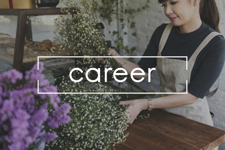 Career Job Occupation Employment Were Hiring Join Us Stock Photo