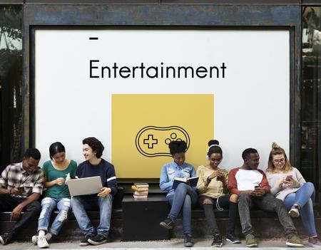 Game Controller Multimedai Entertainment Graphic Illustration