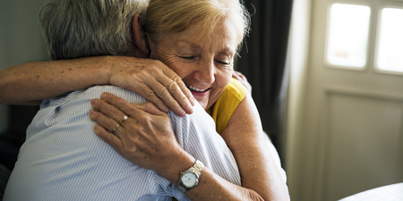 Senior Couple Anniversary Ring Surprise