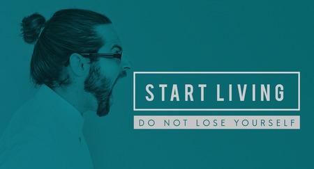Motivation Positive Start Living Quote