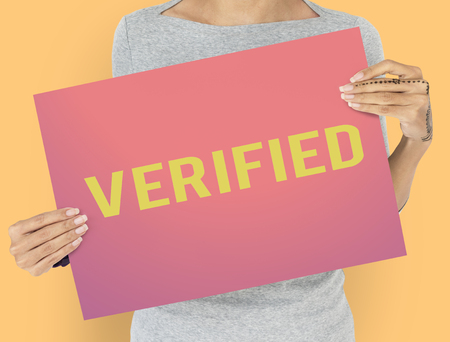 Verified Authorized Check Confirm Approval