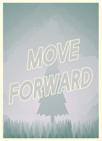 Design with move forward concept