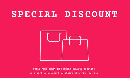 Promoción Commerce Consumer Discount Shopping Foto de archivo - 79279095