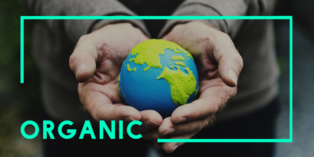 Organic Natural Save Planet Concept Stock Photo