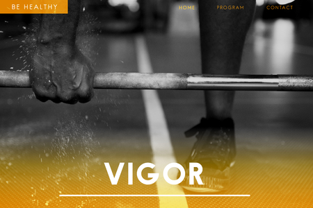 Vigor with weight lifting concept