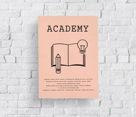 Istruzione Learning Academy Scuola Concetto Archivio Fotografico - 79280941