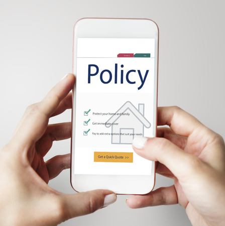 Phone with home policy concept