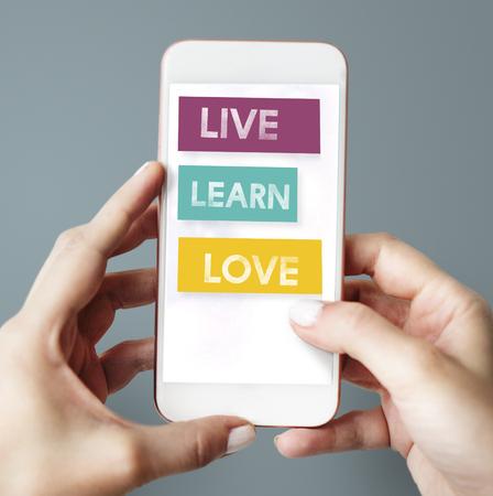 動機の愛の生活は、毎日を学ぶ 写真素材 - 79280319