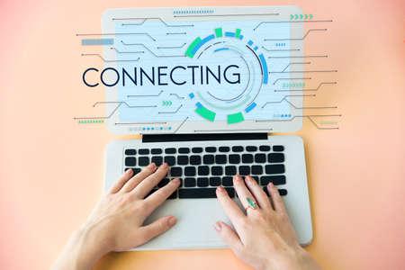 Connecting Network Internet Global Digital