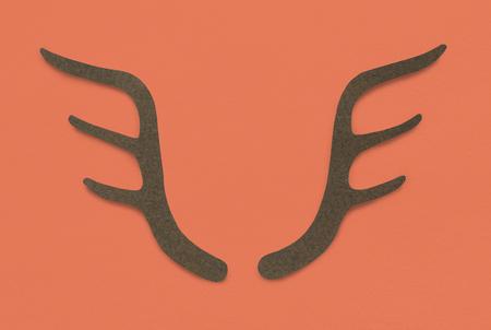 Horn Antler Deer Trophy Symbol