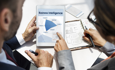 Information Performance Business Intelligence Communication Banco de Imagens