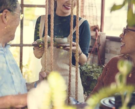 Cafe Beverage Cafeïne Ontspanning Drinken Service