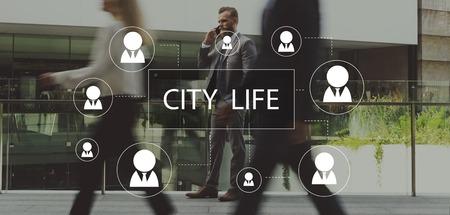City Life Metropolitan Culture Community Busy