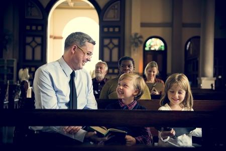 Church People Believe Faith Religious Imagens - 79307632