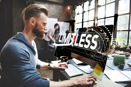 People working no end limitless